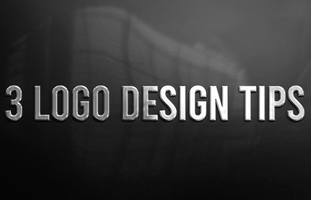 3 Logo Design Tips
