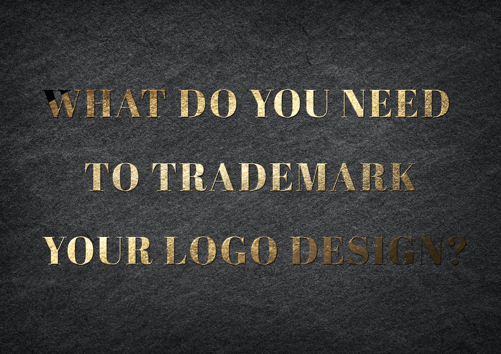 What do you need to trademark your logo design