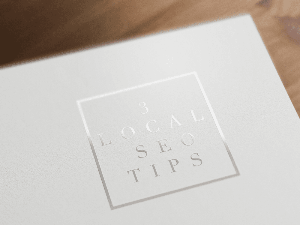 3 Local SEO Tips