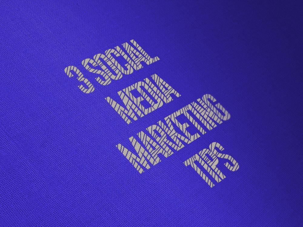 3 Social Media Marketing Tips